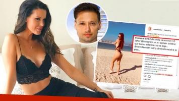 Natalie Weber, ante el polémico comentario de Mauro Zárate en una imagen sexy