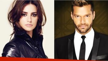 Penélope Cruz y Ricky Martin serán presentadores en los Globos de Oro (Fotos: Web)