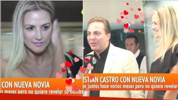 Cristian Castro presentó a su nueva novia, con quien sale desde hace unos meses (Fotos: Captura)