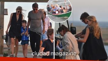 Daniela Urzi y Pablo Cosentino, enamorados en Punta del Este. (Foto: GM Press Punta)