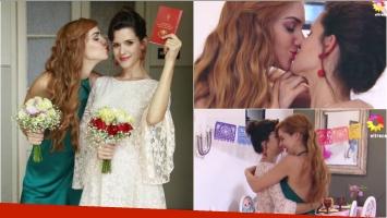 Así fue el casamiento de Flor y Jazmín en Las Estrellas