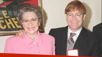 Elton John se despide de su madre, fallecida en diciembre de 2017 (Foto: Web)