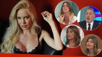 """Furibundas críticas a Luciana Salazar por su maternidad subrogada y su reality show: """"Eso es por plata y se llama..."""