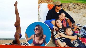 Geraldine Neumann, de vacaciones en Punta con su familia. (Foto: Instagram)