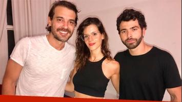 ¡Una Estrella en Carlos Paz! Violeta Urtizberea fue a ver a Pedro Alfonso y Nazareno Casero al teatro
