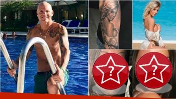 Después de tatuarse a Noelia Marzol, Alejandro Pucheta… ¡se hizo la cara de Megan Fox en el cuerpo!