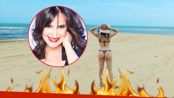 La foto sexy de Jorgelina Aruzzi en la playa (Foto: Instagram)