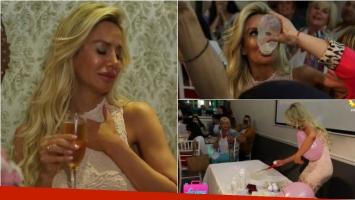 Así fue el baby shower de Luciana Salazar en Luciana Mamá, su reality
