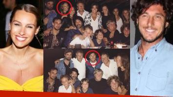 Pampita y Pico Mónaco, cada vez más cerca: fueron al mismo cumpleaños… ¡pero no se juntan para la foto!