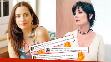 Los fuertes tweets de Úrsula Vargues tras la confesión de Muriel Santa Ana (Fotos: Web)