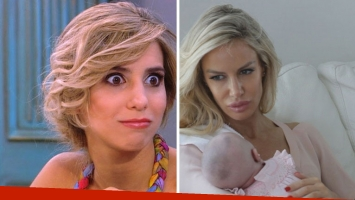 Cinthia Fernández, fuerte contra Luciana Salazar por su programa: La llegada de algo tan lindo es un merchandising...
