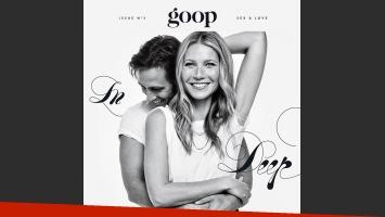 Gwyneth Paltrow anunció su compromiso con Brad Falchuk en la revista Goop