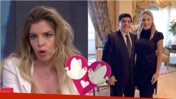 La reacción de Dalma Maradona cuando le preguntaron si Rocío Oliva está invitada a su casamiento