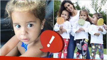 La insólita respuesta de la hija de Cinthia Fernández al preguntarle qué iba a tener cuando sea grande (Fotos: Instagram y Captura de video de Instagram)