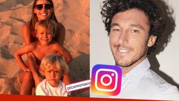 Pampita publicó una foto súper tierna con sus hijos menores… ¡y mirá el comentario que le dejó Pico Mónaco!