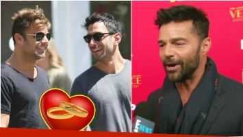 Ricky Martin se casó con su novio Jwan Yosef (Fotos: Web y Captura)
