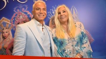 Flavio Mendoza celebró los 10 mil espectadores en Punta junto a Susana Giménez