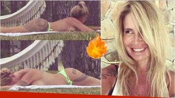 Las fotos hot de Florencia Peña en sus vacaciones en Pinamar (Fotos: Instagram)