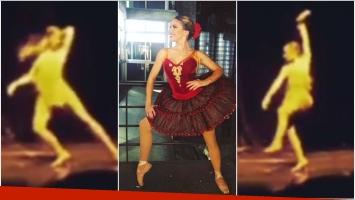 Así bailaba Laurita Fernández a los 15 años (Fotos: Instagram y Captura de Instagram Stories)