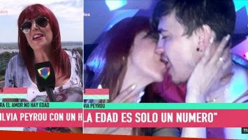 Silvia Peyrou habló de sus besos con un joven 25 años menor en un boliche de Carlos Paz