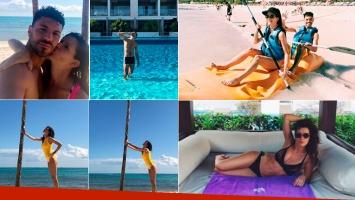 Las paradisíacas vacaciones de Violeta Urtizberea y Juan Ingaramo en México