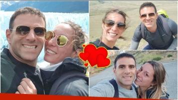 Las vacaciones de Barby Reali con su novio, Leandro Diaco, por el sur (Fotos: Instagram)