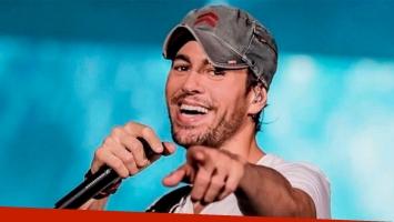 Enrique Iglesias estrenó el video El Baño, junto a Bad Bunny