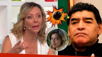 La feroz crítica de Evelyn von Brocke a Maradona