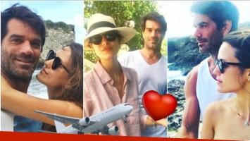 El álbum de vacaciones de Luli Fernández y Cristian Cúneo Libarona (Fotos: Instagram)