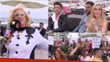 Diego Brancatelli fue abucheado en Mar del Plata por el público de Mirtha