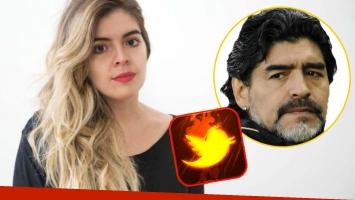 Los fuertes tweets de Dalma Maradona tras el audio de Diego confirmando su ausencia en la boda de su hija (Fotos: Web)