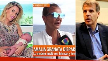 Amalia Granata habló de la supuesta paternidad de Redrado y su decisión de no conocer a Matilda