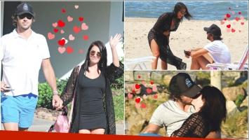 Lali Espósito y Santiago Mocorrea, enamorados en Punta del Este, celebraron el primer año de amor