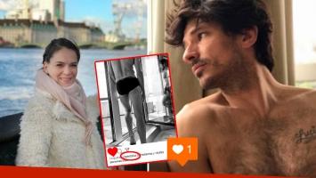 """El pícaro """"me gusta"""" de Luz Cipriota a una foto en paños menores de su nuevo amor, Andrés Velencoso"""