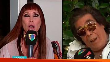 Polémica defensa de Moria Casán a Cacho tras la desafortunada frase de Castaña