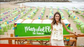 Más de 40 mil jóvenes vibraron con la cantante Tini Stoessel en Mar del Plata (Foto: Web)