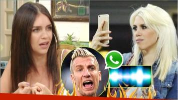La palabra de Zaira Nara tras filtrarse los audios de Maxi López insultando a Wanda (Fotos: Captura y Web)