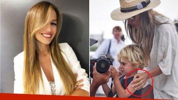 El singular detalle que dejó ver Pampita en una foto casual: reconciliada con Pico Mónaco ¿y anillo de compromiso?