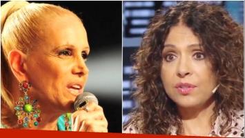 Patricia Sosa se reconcilió con Valeria Lynch (Fotos: Web y Captura)