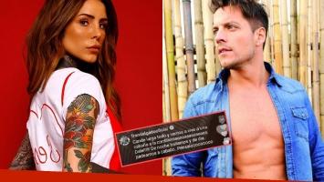 La reacción de Cande Tinelli al recibir una insólita propuesta romántica de Francisco Delgado: ¿Qué dice?