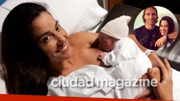 Delfina Gerez Bosco fue mamá