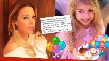 El tierno saludo de cumpleaños de Eva Anderson a su hija Lola: Durante mucho tiempo pensé que las princesas solo...