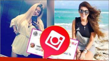 La llamativa reacción de Morena Rial a una publicación de Loly Antoniale en Instagram (Fotos: Instagram)