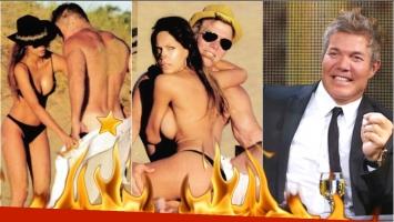 Fernando Burlando habló de sus fotos hot con Barby franco en las playas de Punta (Fotos: revista Paparazzi y Web)