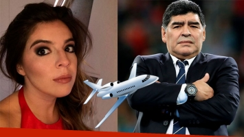 Dalma Maradona volará a Dubai tras la escandalosa decisión de Diego de no ir a su boda