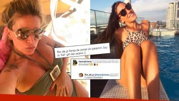 ¡Diosas con buen humor! La foto sexy de Flor Peña en la playa ¡y el pícaro comentario de Jimena barón