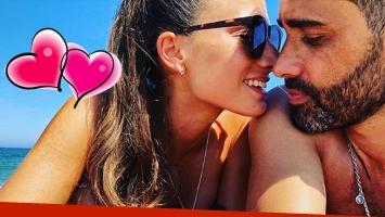 La primera postal romántica del Pollo Álvarez con su nueva novia