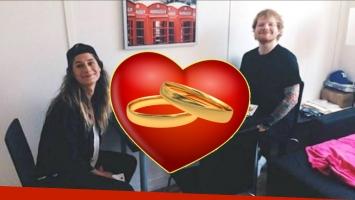 Ed Sheeran anunció su compromiso con su novia, Cherry Seaborn (Foto: Web)