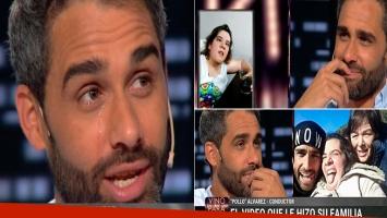 Las lágrimas del Pollo Álvarez al hablar de la enfermedad de su hermana