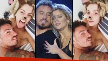 Laurita Fernández, muy sexy en Instagram con Fede Bal recostado sobre su pecho